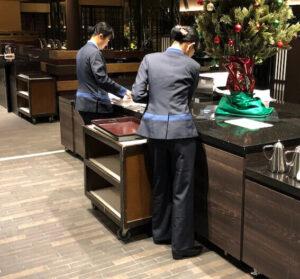 箱根|小涌谷の大型旅館、レストランホール