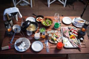 御殿場|調理補助の求人|夏のグランピング